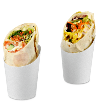 Wrap-Becher